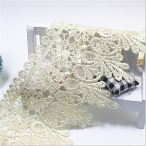 Wholesale New Design Yards Cm Lace Trim Lace Applique Colors Polyester For Clothes Home Textiles Apparel Sewing Lace Fabric