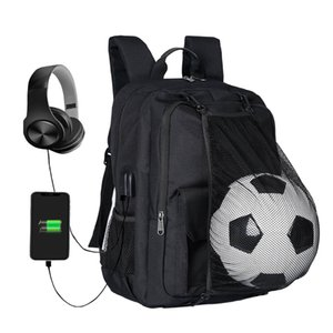 Wholesale Soccer Backpack Basketball bag School bags For Teenager sport Ball Pack Laptop Bag Football Net Gym Bags newest