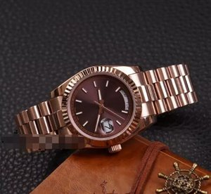 Wholesale DAYDATE Rose Gold Orologio Di Lusso Brand Watch Day Date President Automatic Watches Orologio Da Polso Automatico Lusso Orologio Relo Reloj