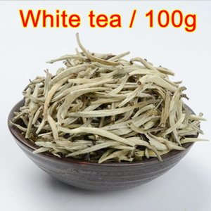 Wholesale 100g good Baihao Yingzhen White Tea Grade Baihaoyinzhen Silver Needle Tea For Weight Loose Chinese Natural Organic food
