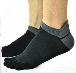 Wholesale Pair Men s Socks Cotton Meias Five Finger Socks Toe Socks For EU Calcetines Ankle Sok