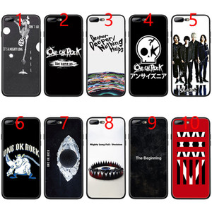 Wholesale ONE OK ROCK Soft Black TPU Phone Case for iPhone XS Max XR s Plus s SE Cover