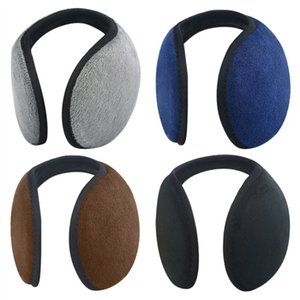 Wholesale Unisex Solid Winter Earmuffs Women Men Ear Cover Protector Thicken Plush Soft Warm Earmuff Warmer Gift Apparel Accessories