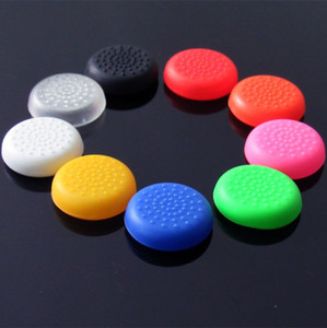 Free shipping TPU Thumbstick Thumb stick Grip Cap Joystick Cover Case Cap for PS4 Controller 7 Colors option
