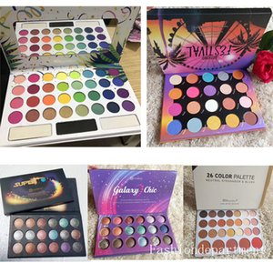 Wholesale In stock Newest Makeup High quality DH Eyeshadow Fashion Color Eyeshadow palette Epacket