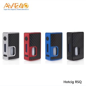 Wholesale Original Hotcig RSQ W Squonk Box Mod Works with Famed Superb Waterproof HM Chip Powered By Battery ML Squonk Bottle