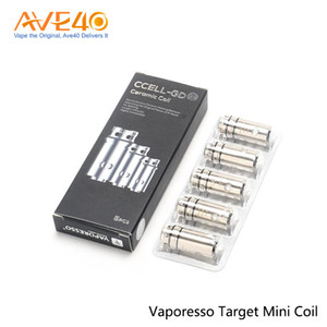 Vaporesso Target Mini CCELL GD Coil 0.5ohm Ceramic Coil for Vaporesso Target Mini 100% Original