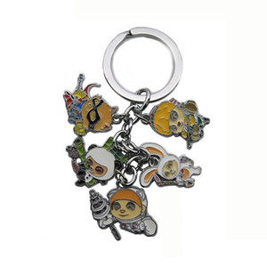 Wholesale Anime League of Legends Heroes LOL Characters Model Keychains Accessories Cartoon Keyring Gift