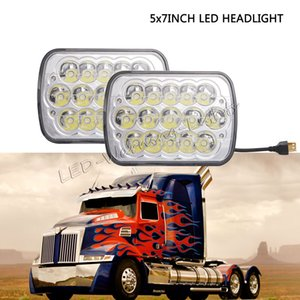 Wholesale 10pairs 5x7inch 6x7inch offroad led sealed headlight for medium and heavy-duty trucks Dodge Van Toyota pickup truck Nissan 240SX H6052
