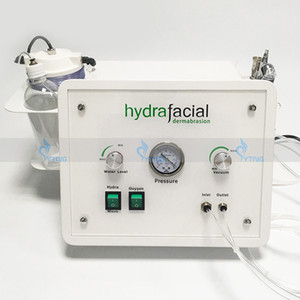 Spa Salon Microdermabrasion Hydrafacial Machine for Skin Care Portable Diamond Peel Water Oxygen Jet Peeling Cleansing 3 in 1