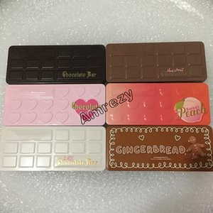 Wholesale High Quality Hot Eye Shadow Palette Matte Shimmer Chocolate Semi sweet Bon Bons Eyeshadow With Iron Box