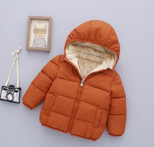 Wholesale new Children Down Coat Winter Warm brushed Baby Boys Clothing Girls Outwear Kids thiick Coats baby infant jackets