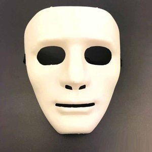 Wholesale plastic faces mask for sale - Group buy Jabbawockeez Full Face Mask Masquerade mask Halloween Hiphop Plain Masks Plastic Dances Perform Mask for men