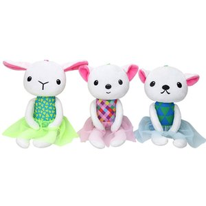 Wholesale Baby Cartoon Animal Hanging Ornaments Plush Toys Appease Dolls Accompanying Mini Cute Stuffing Doll Holiday Birthday Gift