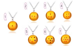 Wholesale Dragon Ball Super Keychain D Crystal Ball Keychain Collection Toy Gift key Ring dragon ball pendant