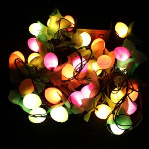 Wholesale 3M heads Christmas decorations Coloured lights Fruit lamp festival christmas tree Decorative lamp New Year decorations