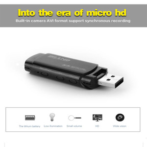 mini u disco portátil dvr al por mayor-16 GB de memoria incorporada de la cámara mini U disco Full HD P Mini USB Flash de la cámara duro portátil USB mini DV DVR del disco de destello Cam PQ238