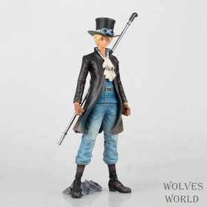 2016 Action Figure One Piece Sabo PVC 22cm Toys OP Cartoon gift Cartoon Carrying pipe Dolls Collectible Model Anime