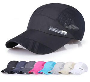 Wholesale Summer Casual Breathe Freely Mesh Letter Baseball Cap Men Outdoor Adjustable Baseball Cap for Sport Hats