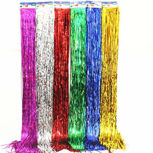 Wholesale party venues for sale - Group buy New Tassel m balloon rain silk holiday party wedding birthday Christmas decoration background atmosphere venue