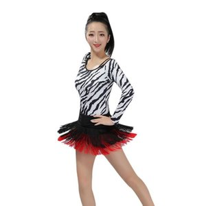 Wholesale Latin Dance Skirt Sexy Mini Fringe Dress Samba Carnival Outfit Women Exotic Dancewear Cha Cha Dance Salsa Dress for Girls