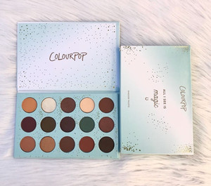 Wholesale HOT Makeup Palette ColourPop ALL I SEE IS MAGIC Pressed Powder Shadow Palette colors Eye shadow palette DHL shipping