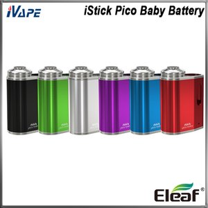 Eleaf iStick Pico Baby Battery 1050mAh Buit-in Battery Best for GS Baby Tank Ultra Portable with LED Indicating Battery Life 100% Original