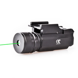 Wholesale tactical light laser resale online - Green laser sight LED tactical strong light flashlight can be aimed to adjust the green laser sight