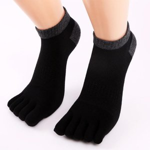 Wholesale DROPSHIP New Arrival Fashion Men Socks Five Fingers Anti Slip Cotton Socks Comfortable Solid Freeship J05