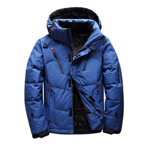 2018 Winter Brand outdoor mountaineering down jacket men's multi-pocket thickening white duck down jacket Parkas men's clothing