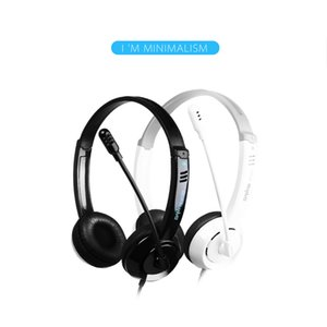 Wholesale Danyin electric DT Desktop Computer Headphone Headset Long Wire Game Headset with Microphone DHL