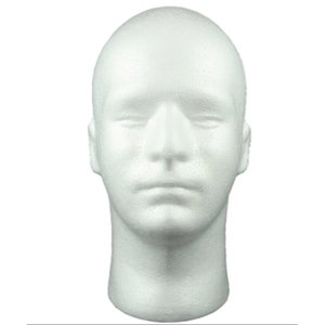 Wholesale Free shiping male Mannequin Head Hat Display Wig training head model model men s