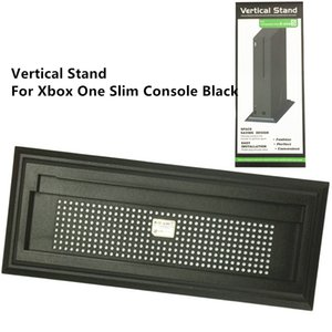 Wholesale xbox ones console for sale - Group buy SYYTECH Vertical Stand Mount Dock Holder Base for Xbox One S Slim Black Console with Gift Box Package Available in stock