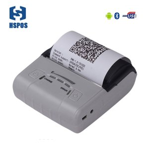 Wholesale best printers for sale - Group buy HSPOS best sale Bluetooth mm Portable printer HS E30UA with USB interface Business style super battery lasting time