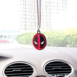 Wholesale New Car Pendant For Deadpool Hanging Ornament Auto Interior Rearview Mirror Suspension Automobile Decoration Car Accessories