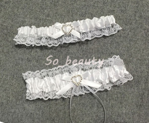 987bdbe0972 Lace Garter Set for Bride with Little Bow Bridal Prom Lace Gift Chic (2  Garters