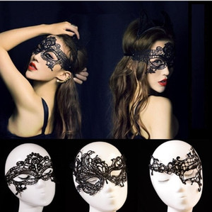 Worldwide Black Sexy Lady Halloween Lace Mask Cutout Eye Mask for Masquerade Party Fancy Mask Costume for Halloween Party 1000pcs