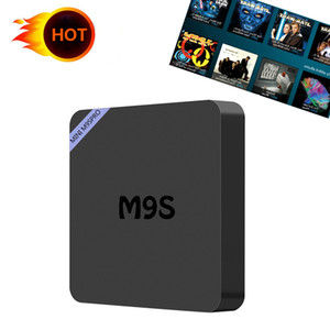 Wholesale Factory M9S PRO M9SPRO K Android TV Box RK3229 Set Top Box K Ultra HD Quad core Streaming Media Player WiFi HDMI2 OTT Box