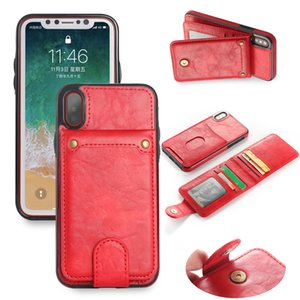 Wholesale Leather mobilephone cover Ultra Slim Leather Credit Card Holder Mobile Phone Case Phone Cover For Girls Boys