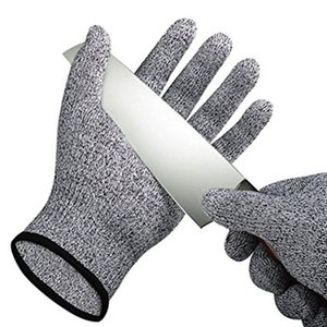 Safety Anti Cut Resistant Gloves Cut Proof Stab Resistant Metal Mesh Butcher Gloves Food Grade Level 5 Kitchen Tools B on Sale