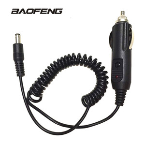 Car Charger cable For Baofeng walkie talkie for UV 5R UV-5RE 888S UV82 Portable Radio Accessories on Sale