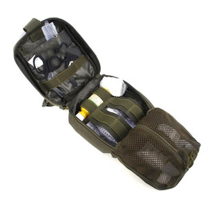 Wholesale Outdoor Durable Tactical Package First Aid Kit Medical First Aid Utility Pouch Oxford Cloth
