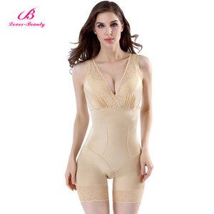 Wholesale Lover Beauty Lady Slimming Burn Fat Briefs Shapewear Tummy Slim Bodysuit Full Body Shaper Slimming Underwear Vest Bodysuits A