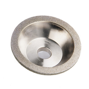 Wholesale grinding wheel grit resale online - Freeshipping mm Diamond Grinding Wheels Grits Grinding Cup Diamond Wheels For Carbide Tool Abrasive Tool