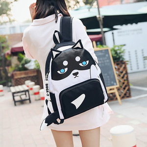 Free Shipping M 2017 New Arrival Fashion Women Punk Backpack School Bag Unisex Handbag Student Bag Men Travel Lady The Laptop Bags 7552