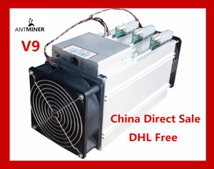 (China Direct Sale) AntMiner V9 4T S Bitcoin Miner (with power supply) Asic Miner Newest 16nm Btc Miner Bitcoin Mining Machine Better Than