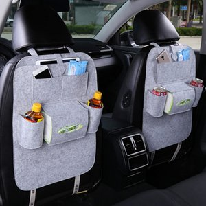 New Universal 1PC Car Auto Seat Back Protector Cover Car Interior Children Kick Mat Storage Bag Accessories Styling