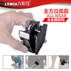 Metal Camera Waist Buckle with 1 4 Quick Release Clamp Holster Camera Waist Holder Plate Camera Belt Bracket Hanging Clip UK-A8S