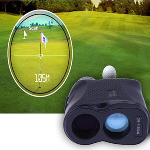 Wholesale Laser Rangefinder Golf Hunting Measure Telescope Digital Monocular Laser Distance Meter Speed Tester Laser Range Finder