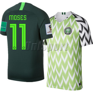 Wholesale World Cup Home Away Men Soccer Jerseys Ighalo Ndidi Futbol National Camisetas Shirt Kit Maillot Maglia Tops